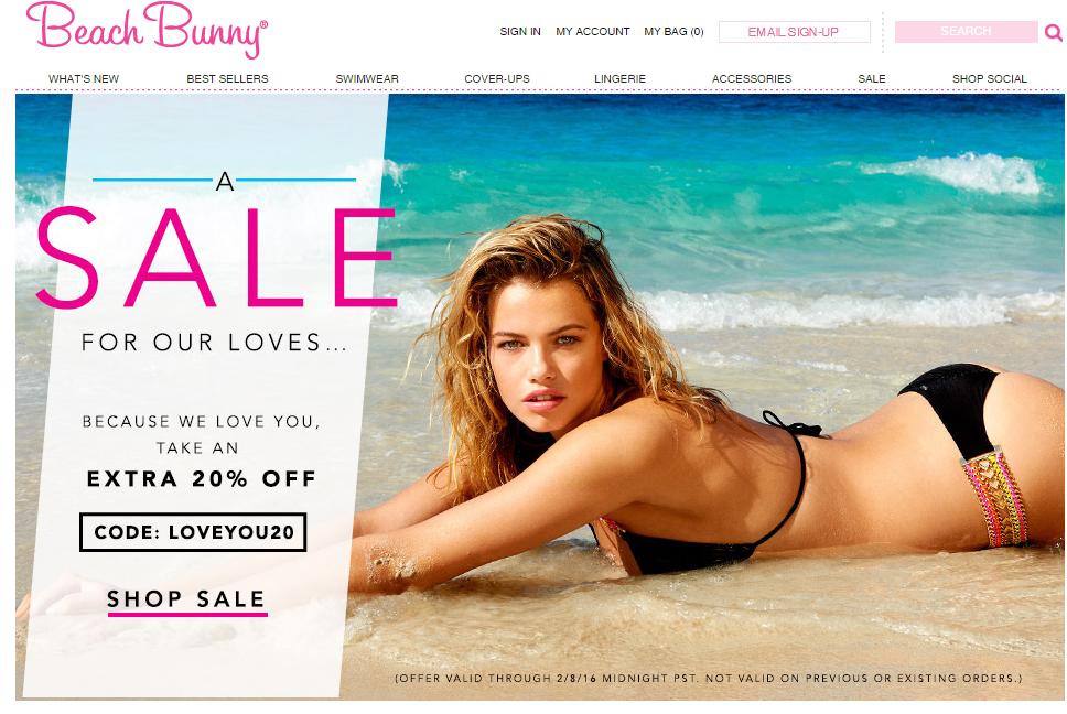 Beach Bunny Swimwear.