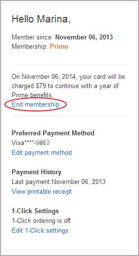 End membership.