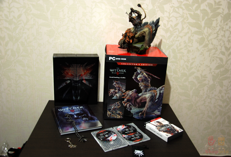 The Witcher 3 Collector's Edition (2).